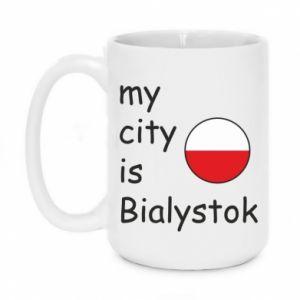 Kubek 450ml My city is Bialystok - PrintSalon