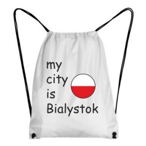 Backpack-bag My city is Bialystok