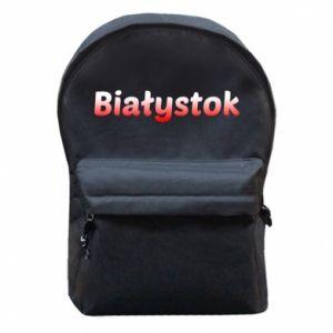 Plecak z przednią kieszenią Białystok