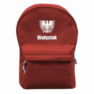 Backpack with front pocket Bialystok