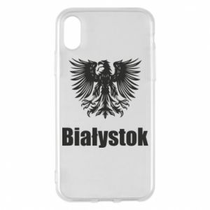 Phone case for iPhone X/Xs Bialystok