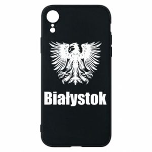 Phone case for iPhone XR Bialystok