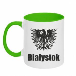 Kubek dwukolorowy Białystok