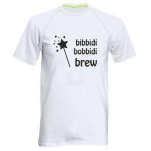 Koszulka sportowa męska Bibbidi, bobbidi, brew