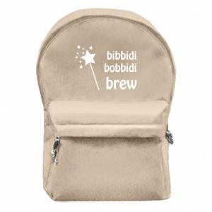 Plecak z przednią kieszenią Bibbidi, bobbidi, brew
