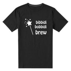 Męska premium koszulka Bibbidi, bobbidi, brew