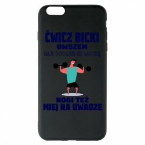 Phone case for iPhone 6 Plus/6S Plus Biceps and legs