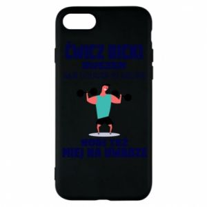 Phone case for iPhone 7 Biceps and legs