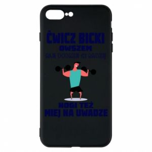 Phone case for iPhone 7 Plus Biceps and legs