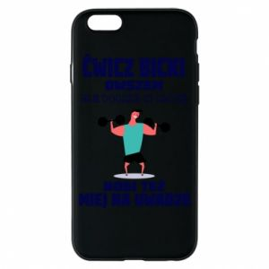 Phone case for iPhone 6/6S Biceps and legs