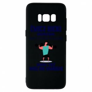 Phone case for Samsung S8 Biceps and legs