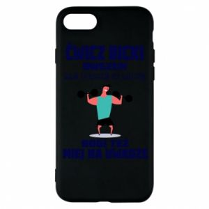 Phone case for iPhone 8 Biceps and legs