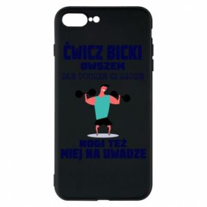 Phone case for iPhone 8 Plus Biceps and legs