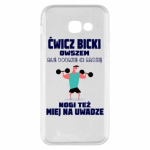Phone case for Samsung A5 2017 Biceps and legs