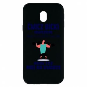 Phone case for Samsung J3 2017 Biceps and legs