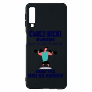 Phone case for Samsung A7 2018 Biceps and legs