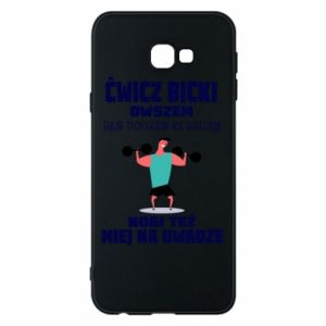 Phone case for Samsung J4 Plus 2018 Biceps and legs