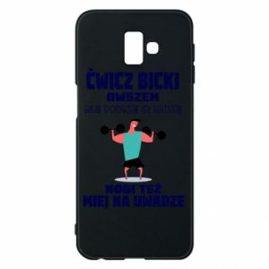 Phone case for Samsung J6 Plus 2018 Biceps and legs