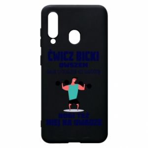 Phone case for Samsung A60 Biceps and legs