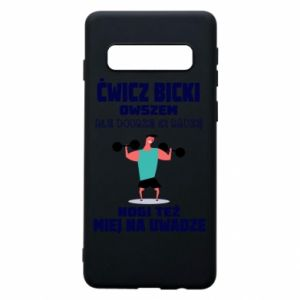 Phone case for Samsung S10 Biceps and legs
