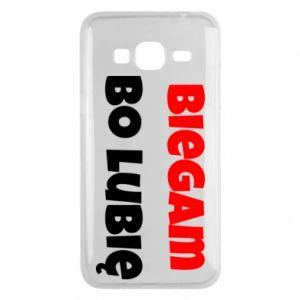 Etui na Samsung J3 2016 Biegam  bo lubię!
