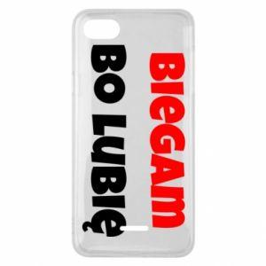 Etui na Xiaomi Redmi 6A Biegam  bo lubię!