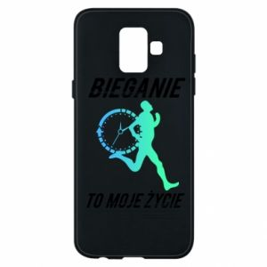 Phone case for Samsung A6 2018 Running is my life
