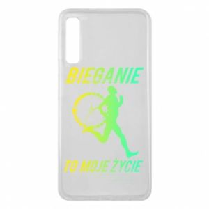 Phone case for Samsung A7 2018 Running is my life