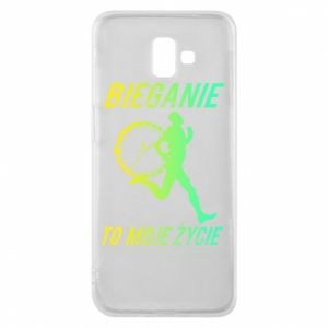 Phone case for Samsung J6 Plus 2018 Running is my life