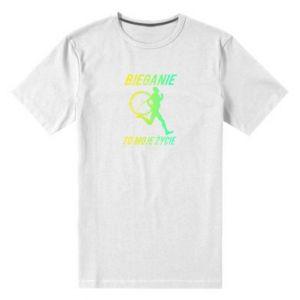 Men's premium t-shirt Running is my life