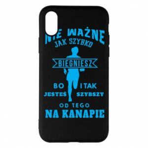 Phone case for iPhone X/Xs Running