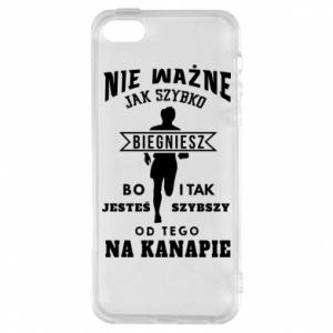 Phone case for iPhone 5/5S/SE Running