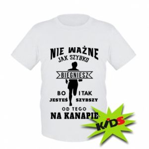 Kids T-shirt Running