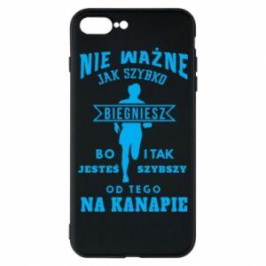 Phone case for iPhone 8 Plus Running