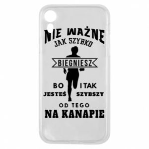Phone case for iPhone XR Running