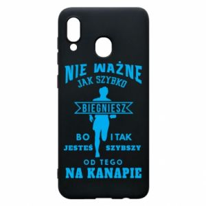 Phone case for Samsung A20 Running