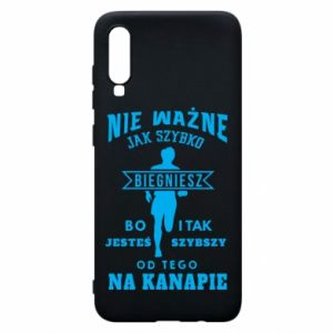 Phone case for Samsung A70 Running