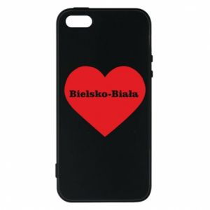 Phone case for iPhone 5/5S/SE Bielsko-Biala in the heart