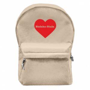 Plecak z przednią kieszenią Bielsko-Biała w sercu - PrintSalon