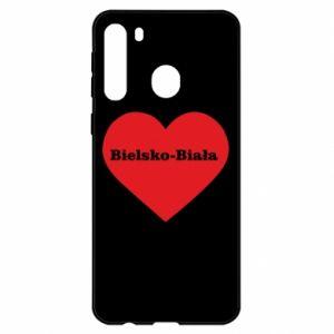 Samsung A21 Case Bielsko-Biala in the heart
