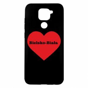 Xiaomi Redmi Note 9 / Redmi 10X case % print% Bielsko-Biala in the heart
