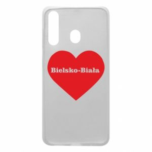 Phone case for Samsung A60 Bielsko-Biala in the heart