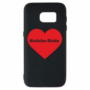 Phone case for Samsung S7 Bielsko-Biala in the heart