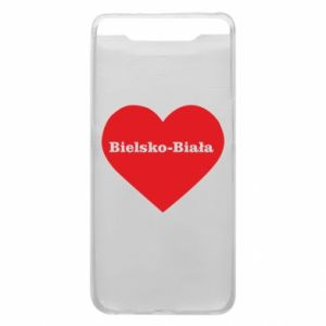 Phone case for Samsung A80 Bielsko-Biala in the heart