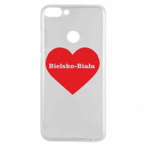 Phone case for Huawei P Smart Bielsko-Biala in the heart