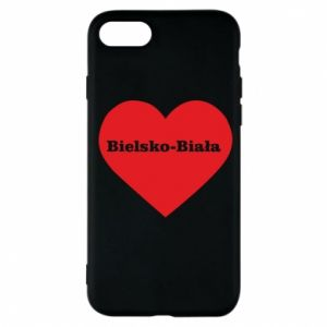 Phone case for iPhone 7 Bielsko-Biala in the heart