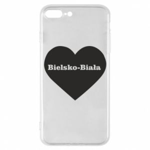 Phone case for iPhone 7 Plus Bielsko-Biala in the heart