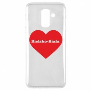 Phone case for Samsung A6+ 2018 Bielsko-Biala in the heart