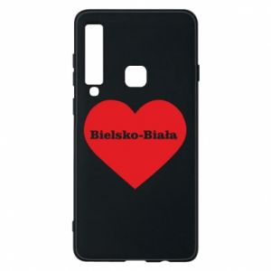 Phone case for Samsung A9 2018 Bielsko-Biala in the heart