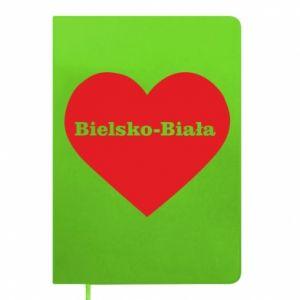 Notepad Bielsko-Biala in the heart